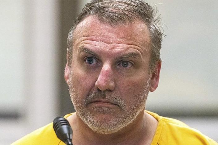 Brian Smith during his court hearing