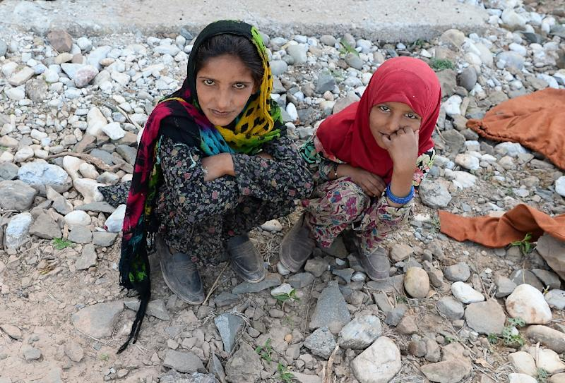 The murder of the girl, whose name cannot be used for legal reasons, is just the latest sign of hostility, according to the Bakarwals (AFP Photo/SAJJAD HUSSAIN)