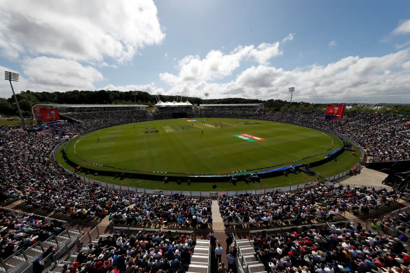 FILE PHOTO: ICC Cricket World Cup - England v West Indies