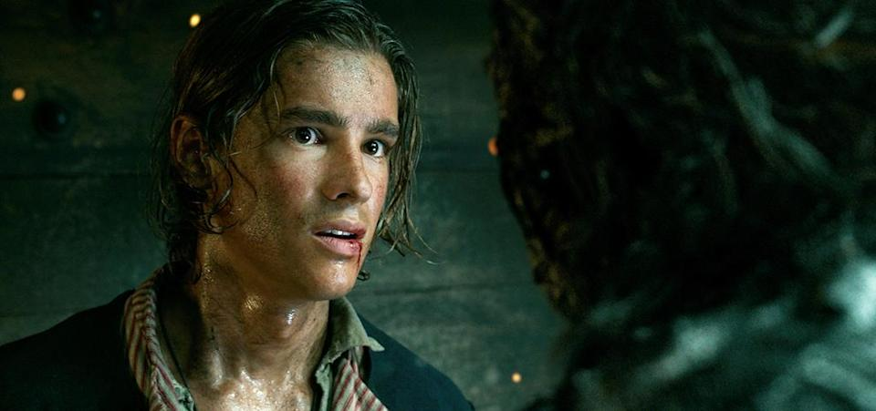 <p>Brenton Thwaites plays Henry, a young sailor, in 'Pirates of the Caribbean: Dead Men Tell No Tales' (Photo: Disney)<br><br> </p>