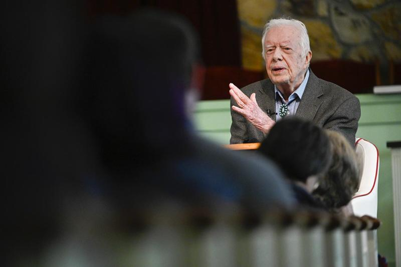 Jimmy Carter calls out police injustice, but says violence is 'not a solution'