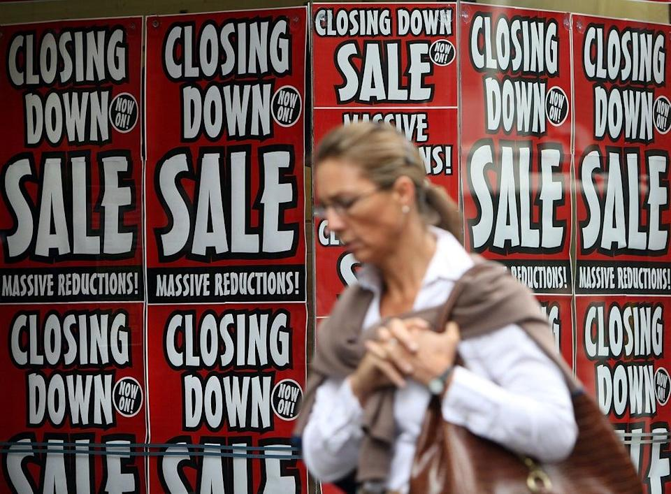 'If help from government is not forthcoming, then it is unfortunately the case that thousands of firms would not survive the winter as a result,' said the British Chambers of Comerce  (Getty Images)
