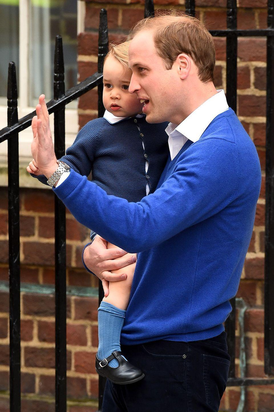 """<p>The correct title when referring to the royal baby is His or Her Royal Highness Prince or Princess (name) of <a href=""""https://www.csmonitor.com/tags/topic/Cambridge"""" rel=""""nofollow noopener"""" target=""""_blank"""" data-ylk=""""slk:Cambridge"""" class=""""link rapid-noclick-resp"""">Cambridge</a>.</p>"""