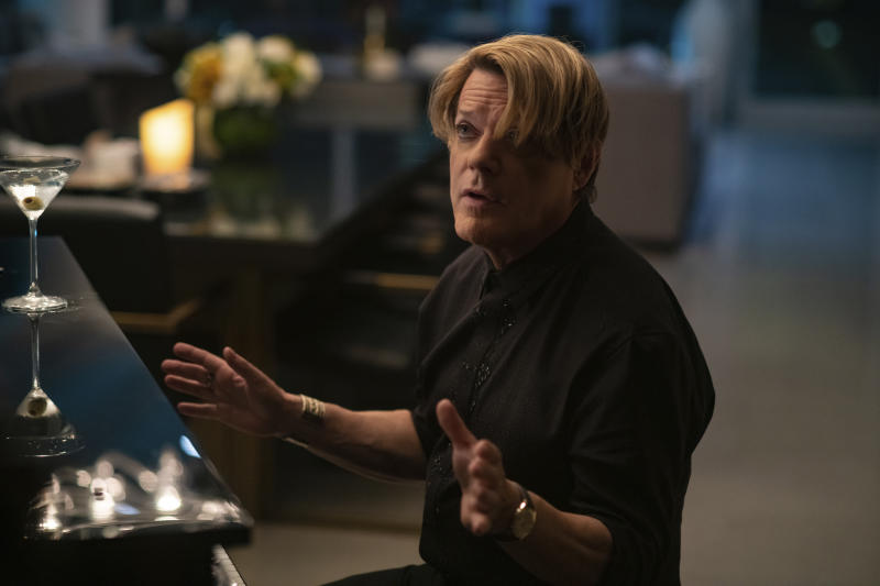 "This image released by Focus Features shows Eddie Izzard in a scene from ""The High Note.""  (Glen Wilson/Focus Features via AP)"