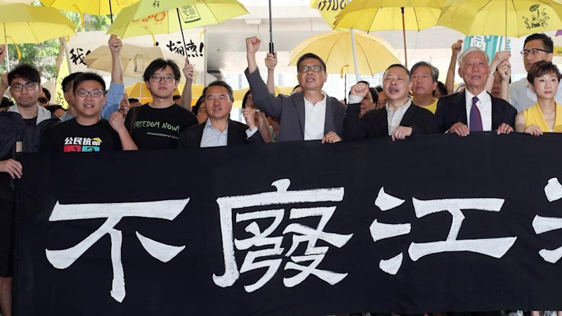 Convicted Occupy pair lodge judicial appeals against sentences for roles in Hong Kong's biggest civil disobedience movement
