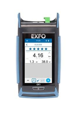EXFO launches a new category of fiber testing solutions: Optical Xplorer™, the first optical fiber multimeter. (CNW Group/EXFO Inc.)