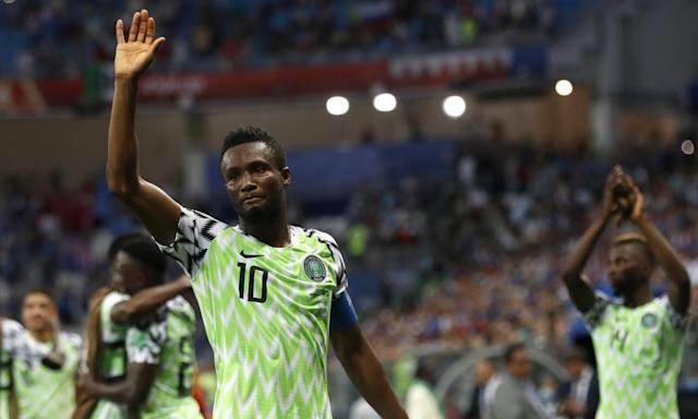 """<span class=""""element-image__caption"""">Mikel John Obi says he knew Nigeria would play Argentina at the World Cup. They have faced them on five of the six occasions on which they have qualified.</span> <span class=""""element-image__credit"""">Photograph: Darko Vojinovic/AP</span>"""