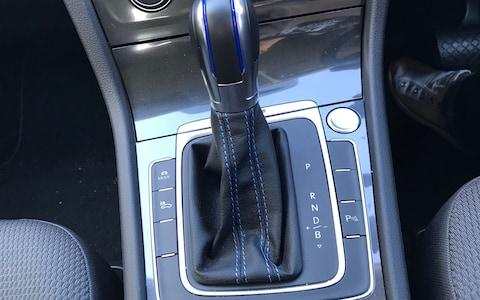 vw e-golf gear lever