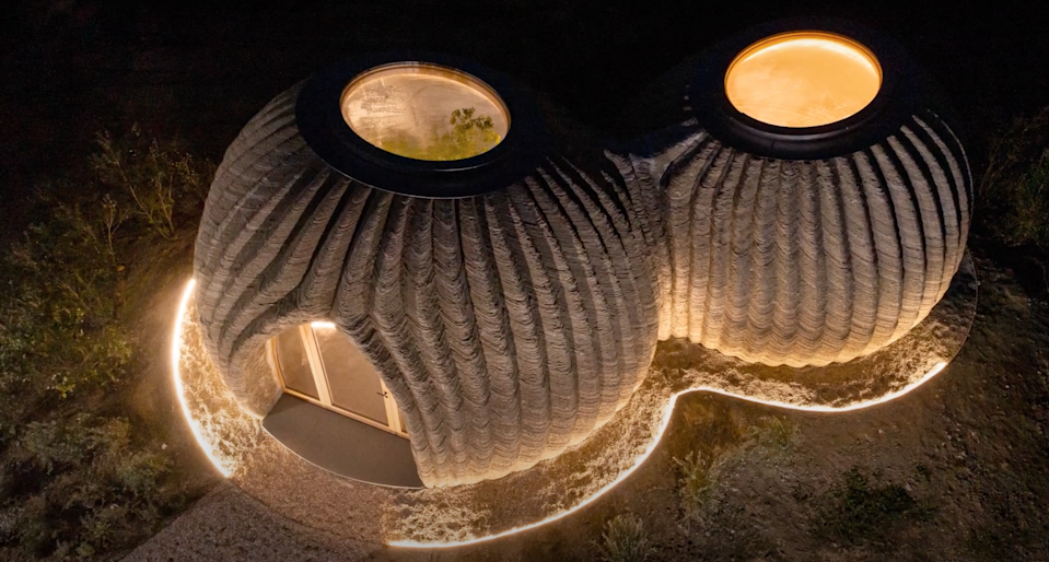 This prototype 3D-printed house in Italy looks a lot like the Lars homestead from Star Wars.