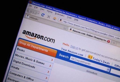 Online retail titan Amazon.com on Thursday opened a virtual shop specializing in Spanish-language digital books
