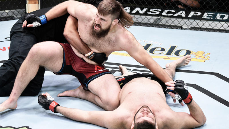 UFC Fight Night: Tanner Boser's devastating knockout
