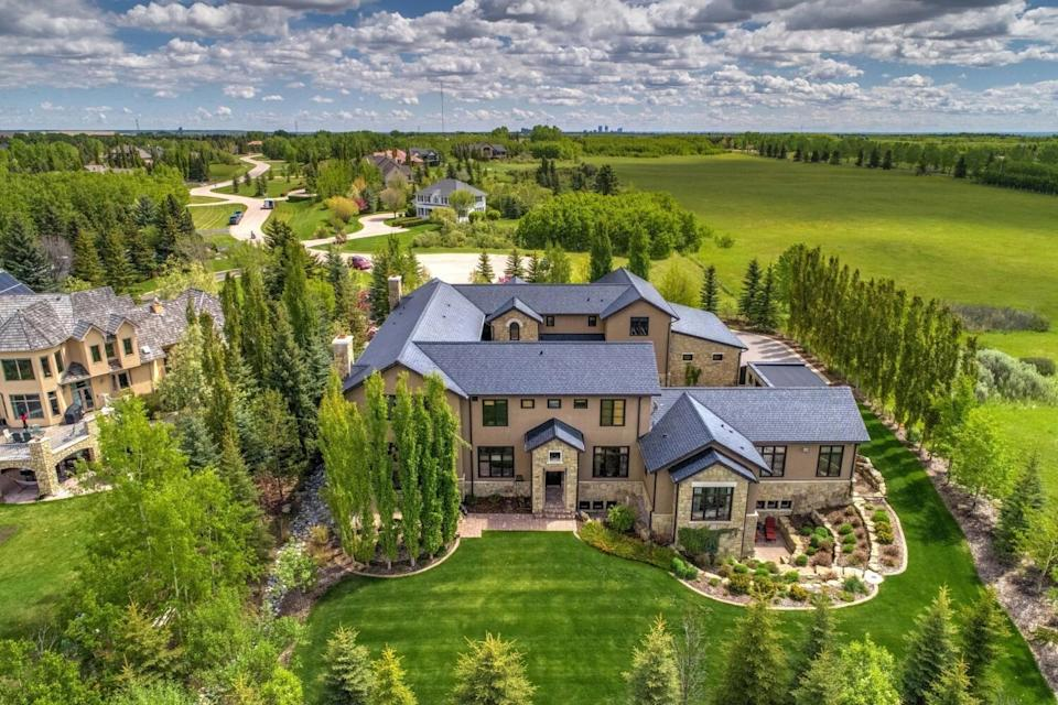 The $8.5-million mansion set to go up for auction in Calgary. (Photo: Concierge Auctions)