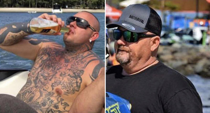 Shane Ross (left) and Cameron Martin (right). Both died within days of each other on the Gold Coast. Source: Facebook