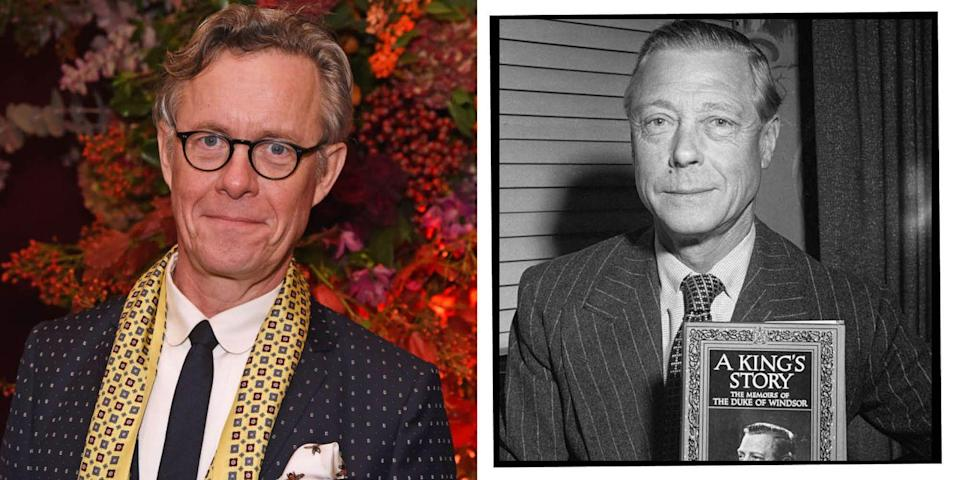 <p><strong>Who plays The Duke of Windsor in</strong><strong> The Crown seasons 1 and 2?</strong></p><p><strong>Alex Jennings: </strong>Looking remarkably alike to his on-screen Crown counterpart - the abdicated king - Jennings previously played Prince Charles in The Queen (starring Helen Mirren) and is an Olivier-award winning stage actor too.</p>