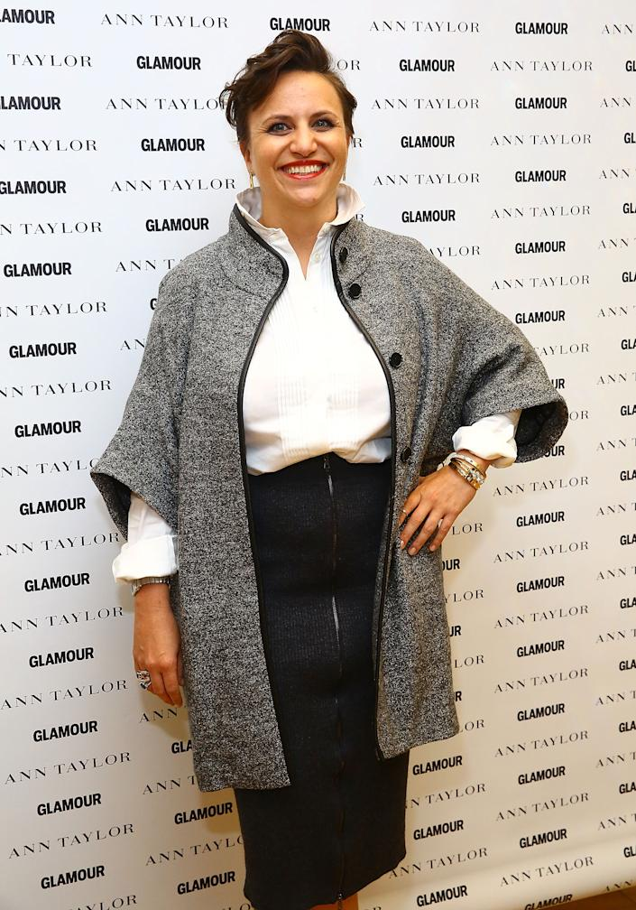 NEW YORK, NY - OCTOBER 09:  Glamour Special Projects Directorm Genevieve Roth, attends Glamour And Ann Taylor, in partnership with Breast Cancer Research Foundation, host a panel and cocktails for Breast Cancer Awareness Month on October 9, 2014 in New York City.  (Photo by Astrid Stawiarz/Getty Images for Glamour)