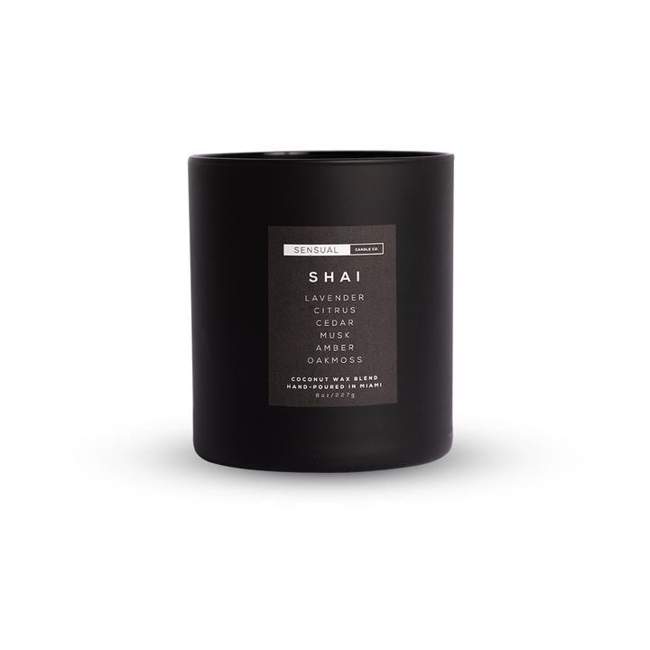 "<p><strong>Sensual Candle Co.</strong></p><p><strong>$36.00</strong></p><p><a href=""https://www.sensualcandle.co/collections/all-candles/products/shai"" rel=""nofollow noopener"" target=""_blank"" data-ylk=""slk:SHOP IT"" class=""link rapid-noclick-resp"">SHOP IT</a></p><p>Lavender and citrus meets amber and sandalwood in this sensual candle from the aptly-named Sensual Candle Co. based in Miami, Florida.</p>"