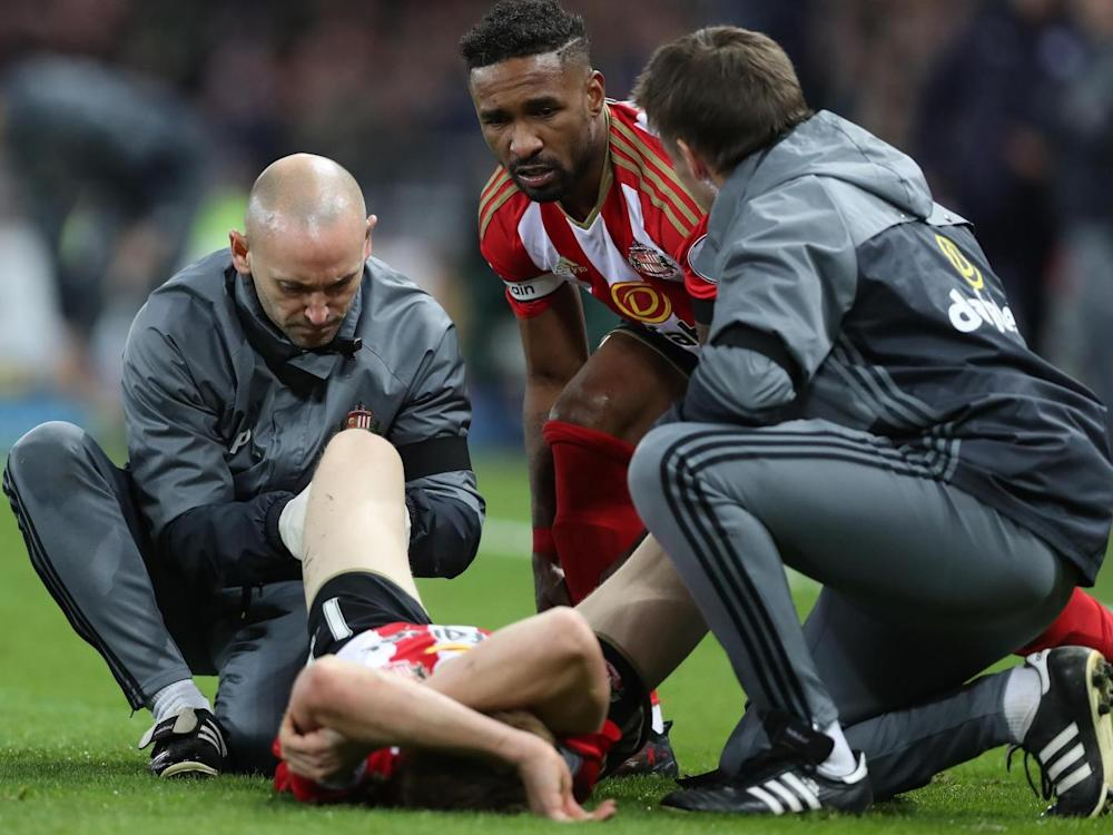Watmore will be out for the rest of the season with his injury (Getty)