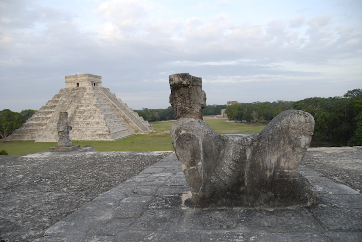 <strong>Chichén Itzá</strong> in Mexico was one of the most important city-states in the pre-Columbian Americans. The Mayan ruins are located on the Yucatán Peninsula.