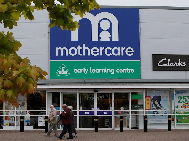 Mothercare is to close 50 shops across the UK: Reuters