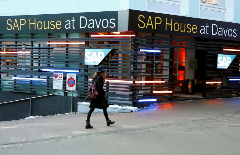 SAP shares jump after better-than-expected quarterly results
