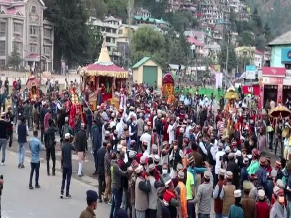 Week-long Kullu Dussehra celebrations started in Himachal Pradesh on Sunday. Photo/ANI