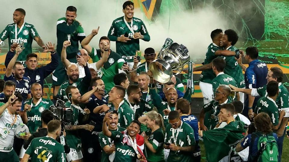 2020 Copa do Brasil Final: Palmeiras v Gremio Play Behind Closed Doors Amidst the Coronavirus (COVID | Buda Mendes/Getty Images
