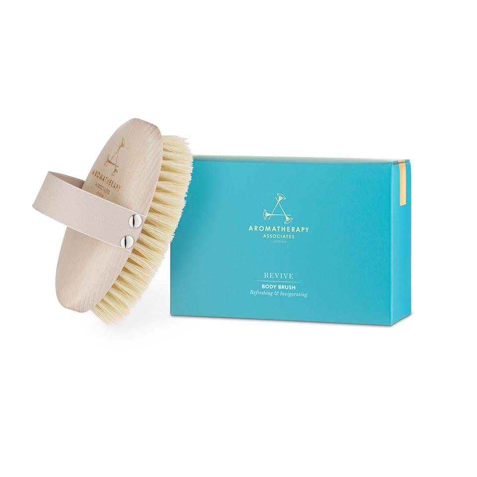 "<p>Sluff away all your holiday sins this season with Aromatherapy Associates's decadent Polishing Body Brush. Made with all-natural cactus sisal bristles, this guy <a rel=""nofollow"" href=""https://www.allure.com/story/dry-brushing-a-quick-way-to-smooth-skin?mbid=synd_yahoo_rss"">scrubs away dead skin</a> like no other to reveal your softest, smoothest skin ever.</p> <p>$32 (<a rel=""nofollow"" href=""https://shop-links.co/1656065819499381703"" rel=""nofollow"">Shop Now</a>)</p>"