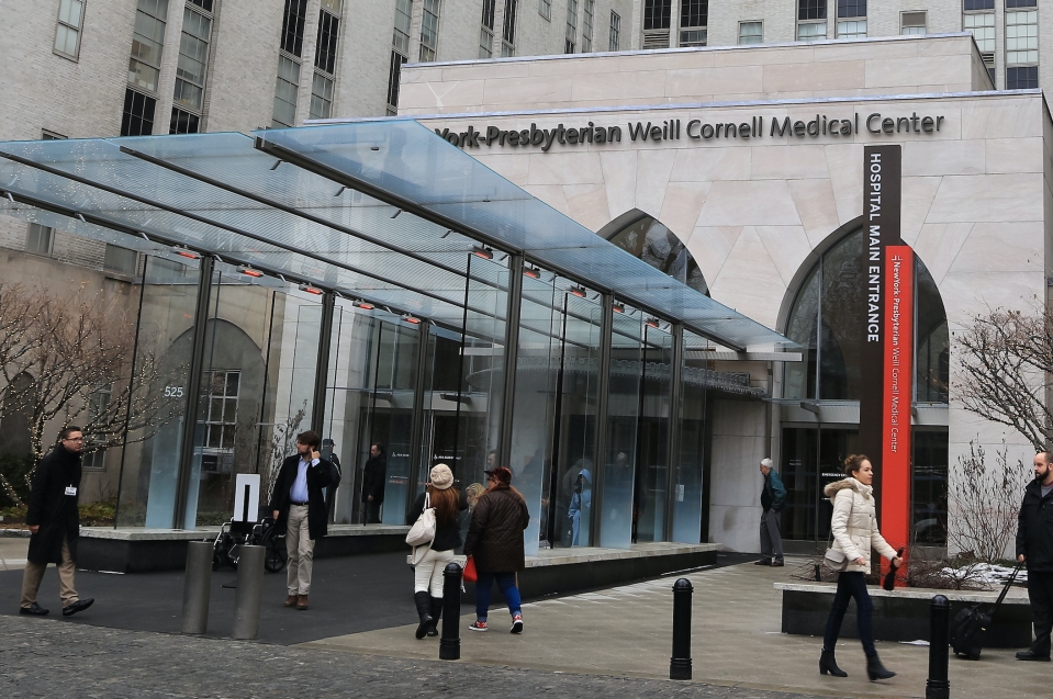 General views of NewYork-Presbyterian/ Weill Cornell Medical Center on February 21, 2014 in New York City. (Photo: Alessio Botticelli/GC Images)