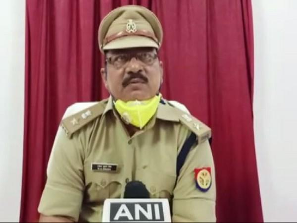 Ravindra Kumar Singh, Assistant superintendent of Police speaking to ANI. Photo/ANI