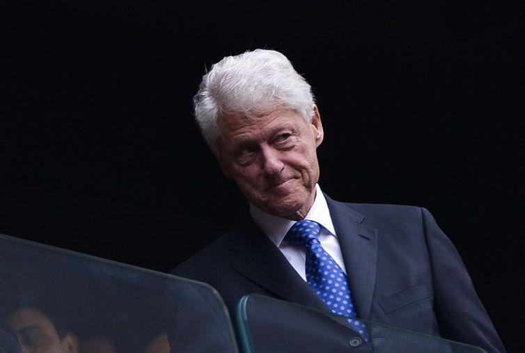 Ex-presidente dos Estados Unidos Bill Clinton