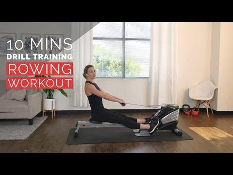 """<p>Break down and improve your stroke form with trainer Sydney and this perfect for beginners rowing drills workout. You'll focus on arms, then legs and then power, with a rest after a minute of each. Repeat the circuit once more and you're done! </p><p><a href=""""https://www.youtube.com/watch?v=kyOBqg5663c&ab_channel=SunnyHealth%26Fitness"""" rel=""""nofollow noopener"""" target=""""_blank"""" data-ylk=""""slk:See the original post on Youtube"""" class=""""link rapid-noclick-resp"""">See the original post on Youtube</a></p>"""