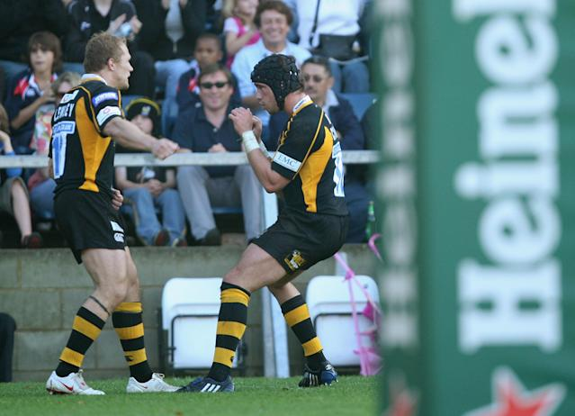 Cipriani and Lewsey are reported to have had a disagreement while training with Wasps