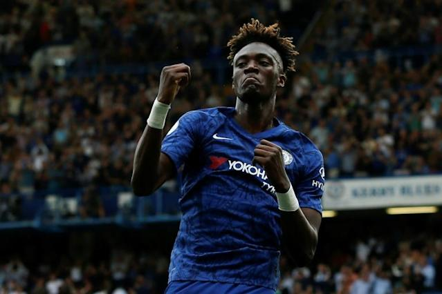 Tammy Abraham has scored nine goals for Chelsea this season (AFP Photo/Ian KINGTON)