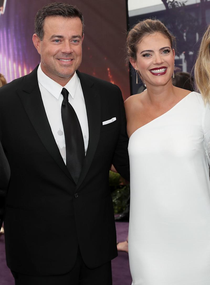 Carson Daly And Pregnant Wife Siri Attend Emmys Two Days After