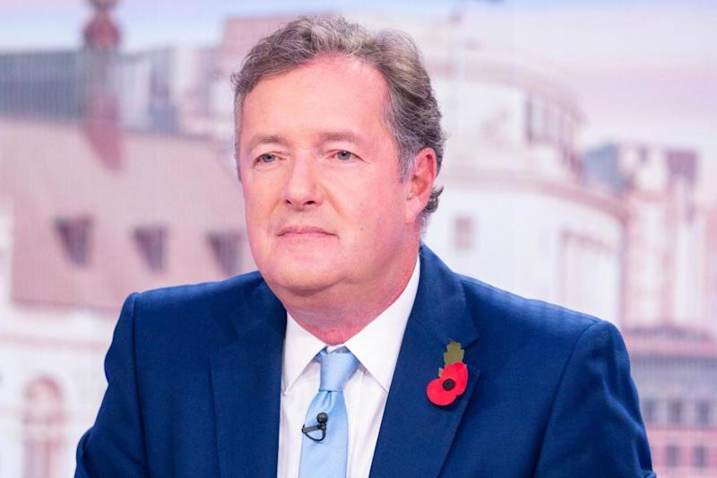 Hit out: Piers Morgan criticised the re-write (Rex)