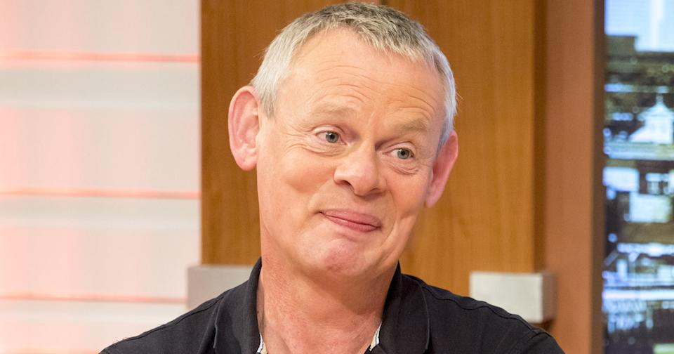 WATCH: Martin Clunes in hilarious confrontation for parking his car in a motorcycle space