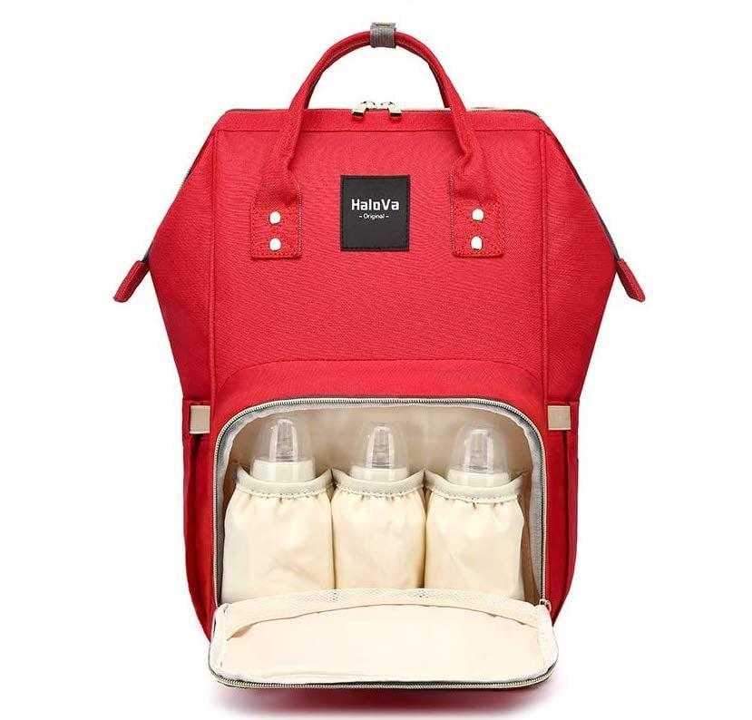 <p>The <span>HaloVa Diaper Bag Multi-Function Waterproof Travel Backpack</span> ($29) has endless storage compartments.</p>