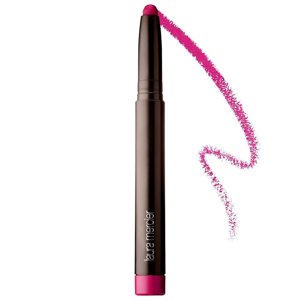 """<p><strong>Laura Mercier</strong></p><p>sephora.com</p><p><strong>$30.00</strong></p><p><a href=""""https://go.redirectingat.com?id=74968X1596630&url=https%3A%2F%2Fwww.sephora.com%2Fproduct%2Fvelour-extreme-matte-lipstick-P427041&sref=https%3A%2F%2Fwww.goodhousekeeping.com%2Fbeauty-products%2Fg34238680%2Fbest-lipsticks%2F"""" rel=""""nofollow noopener"""" target=""""_blank"""" data-ylk=""""slk:Shop Now"""" class=""""link rapid-noclick-resp"""">Shop Now</a></p><p>A top performer in the GH Beauty Lab's long-wear lipstick test, this slim Laura Mercier matte-finish crayon — in a range of 24 shades — ranked above the rest for staying in place. The lipcolor performed the best in the Lab's test of color transfer on cups after the sipping of a hot drink, and with testers for not smearing or transferring throughout the day. Many <strong>testers loved how easy the twist-up pen made it <a href=""""https://www.goodhousekeeping.com/beauty/makeup/a33808743/how-to-apply-lipstick/"""" rel=""""nofollow noopener"""" target=""""_blank"""" data-ylk=""""slk:to apply the lipstick"""" class=""""link rapid-noclick-resp"""">to apply the lipstick</a> precisely</strong>. The """"smooth"""" formula also had """"great color payoff.""""</p>"""