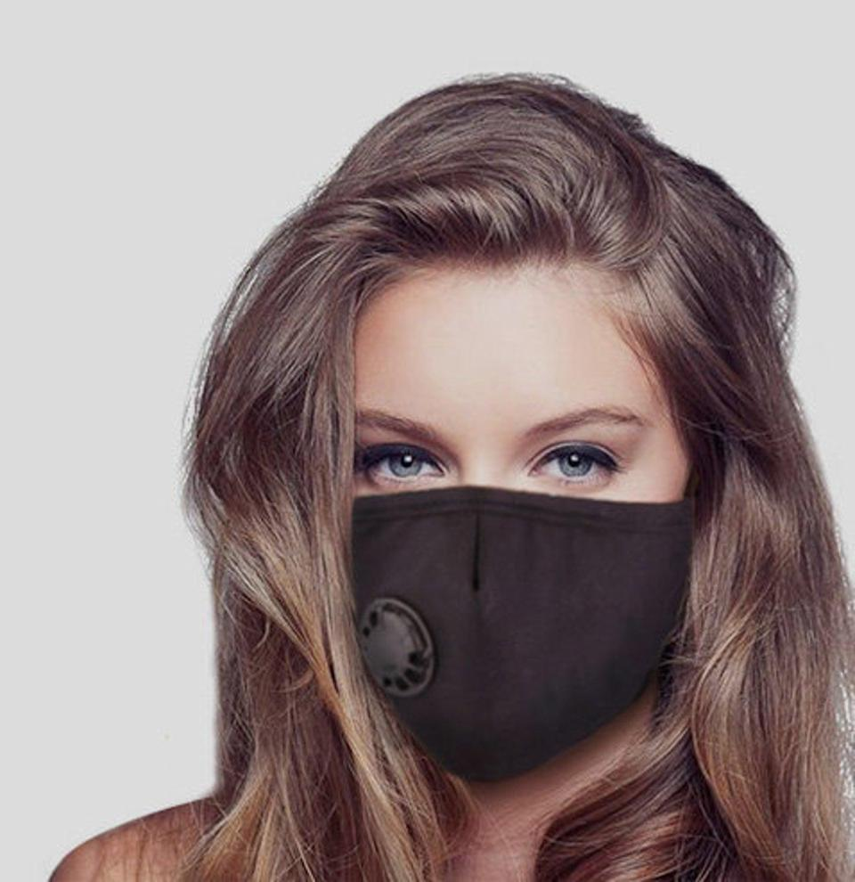 <p>This <span>Reusable Adjustable Premium Cotton Face Mask</span> ($25) is a good option.</p>