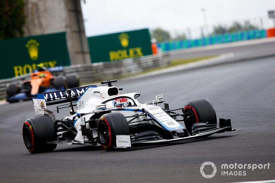 """George Russell, Williams FW43 <span class=""""copyright"""">Andy Hone / Motorsport Images</span>"""