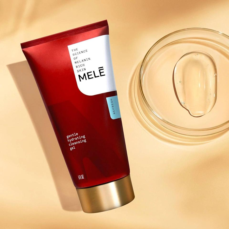 <p>Reveal soft, hydrated skin after using the <span>MELE Refresh Gentle Hydrating Facial Cleansing Gel</span> ($14). It's effective in removing makeup, dirt, and sweat without leaving the skin feeling stripped.</p>