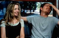 """<p><a class=""""link rapid-noclick-resp"""" href=""""https://www.amazon.com/Before-Sunrise-Ethan-Hawke/dp/B002XXNSF6?tag=syn-yahoo-20&ascsubtag=%5Bartid%7C10058.g.2509%5Bsrc%7Cyahoo-us"""" rel=""""nofollow noopener"""" target=""""_blank"""" data-ylk=""""slk:watch"""">watch</a></p><p>In this swooningly romantic movie from Richard Linklater, Julie Delpy and Ethan Hawke play a pair of travelers—she French, he American—who have a chance meeting in Vienna and decide to spend the evening before his departing flight walking around the city and talking to one another. In 2005, the sequel <em>Before Sunset </em>continues the story, and then in 2015 the trilogy is wrapped up with <em>Before Midnight</em>. All of them are worth watching over and over.</p>"""