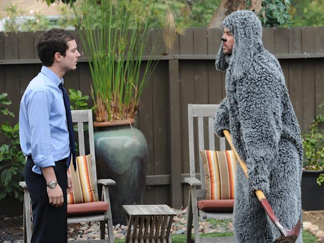 Elijah Wood as Ryan and Jason Gann as Wilfred in 'Wilfred'