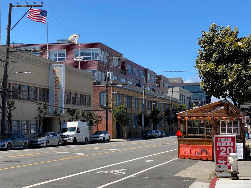 <p>The offices of Cloud computing firm Fastly in San Francisco, California. A brief outage on Fastly's network on 8 June triggered worldwide internet problems. </p> (Josh Marcus / The Independent.)