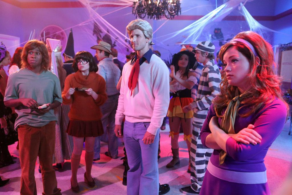 "<b>""Suburgatory""</b> -- ""The Witch of East Chatswin""<br>Wednesday, 10/24 at 9:30 PM on ABC<br><br>When Tessa convinces Dalia and the KKK (Kimantha, Kaitlyn and Kenzie) to come up with feminist inspired Halloween costumes, she finds herself the interest of the infamous East Chatswin witch (aka Paula), played by guest star Rachel Dratch. Elsewhere, Dallas invites George to be ""Ken"" to her ""Barbie"" -- but he declines, not realizing that she is asking him out."