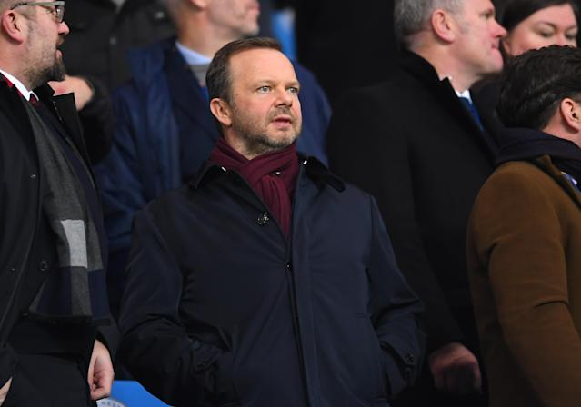Ed Woodward, executive vice-chairman of Manchester United. (Photo by Laurence Griffiths/Getty Images)