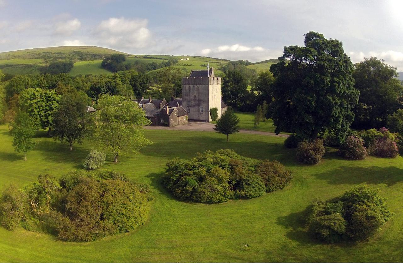 What could be more romantic than living in a castle? This enchanting home on the Isle of Bute, Argyll, is set among 20 acres of parkland grounds and includes seven cottages as part of the estate.  Kames Catle is on the market for £995,000.  www.struttandparker.co