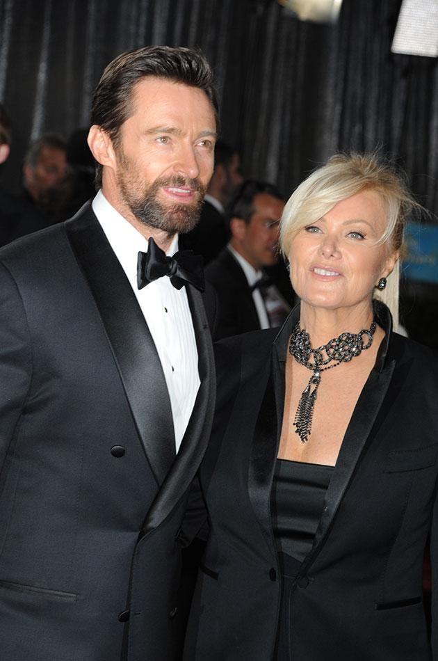 Hugh first got a spot on his nose checked out at the request of his wife Deborah-Lee Furness. Source: Getty