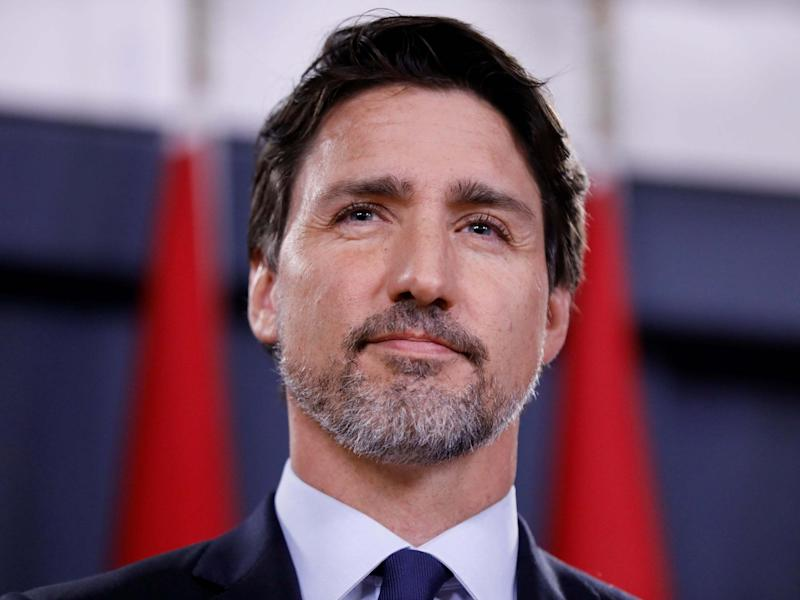 Canada's prime minister Justin Trudeau, 8 January 2020: Blair Gable/Reuters