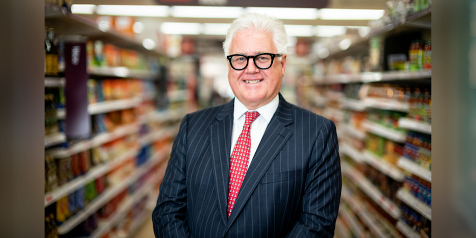 28) Jim Brown, CEO, Sainsbury's Bank. Photo: Sainsbury's Bank